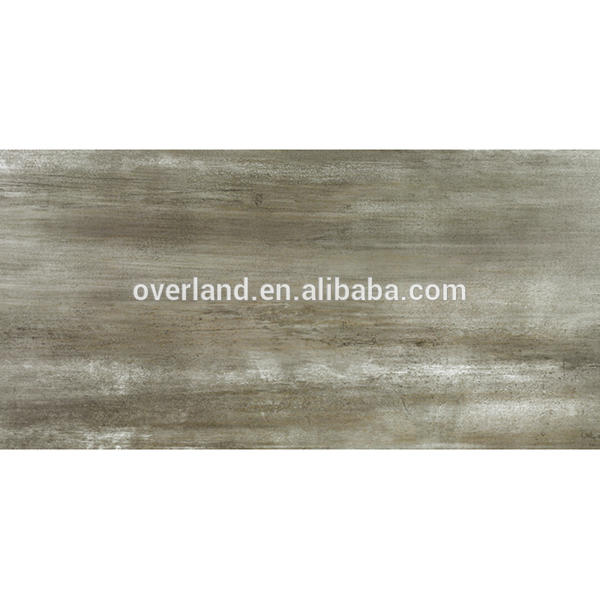 Grey homogeneous wood grain ceramic tile
