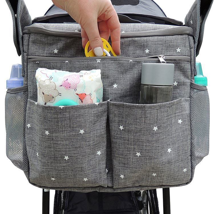 Osgoodway High Quality Factory Supply Baby Diaper Storage Stroller Organizer Bag