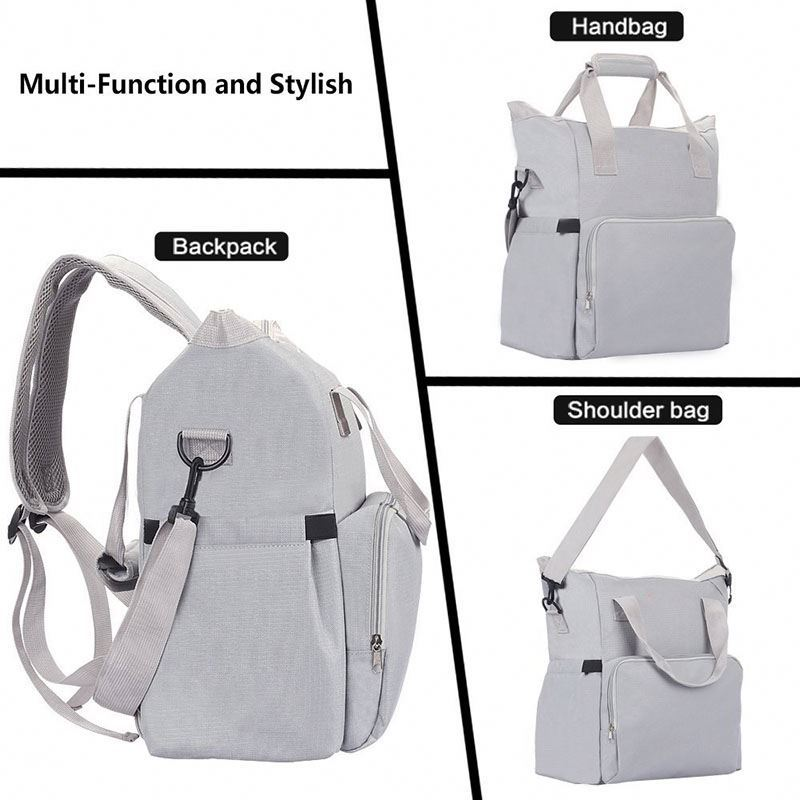 product-Osgoodway-Osgoodway Low MOQ 2020 Stylish Large Capacity Diaper Bag Backpack for Mum-img