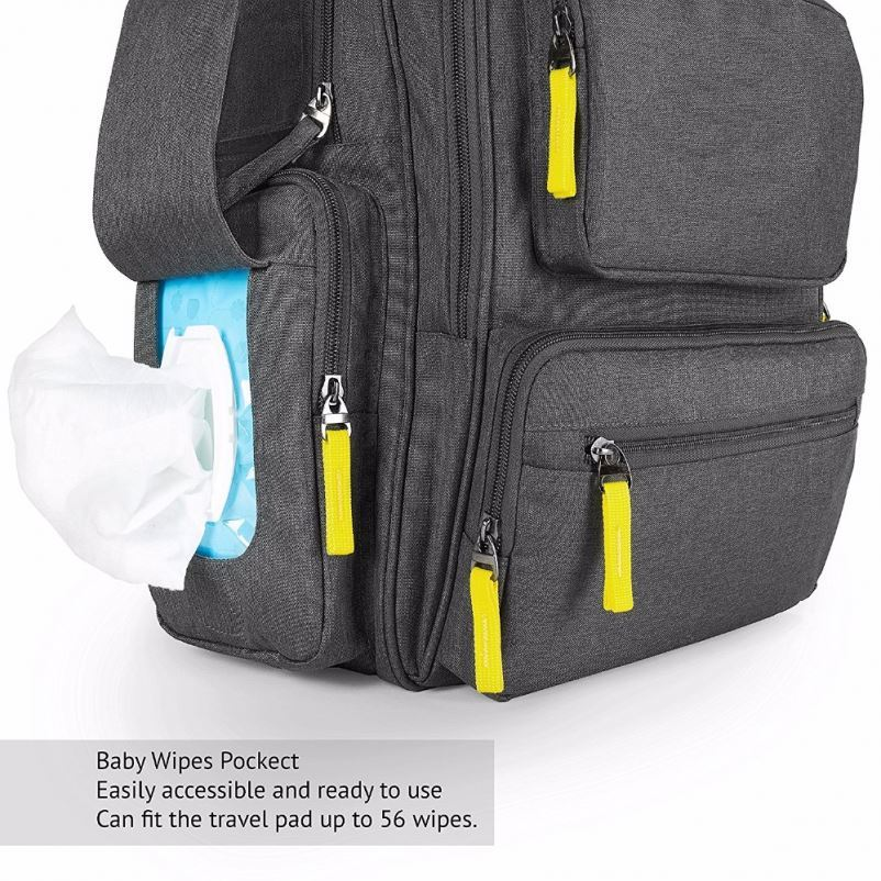 product-Osgoodway-Osgoodway Multifunctional Mummy Baby Backpack Baby Diaper Bag Backpack with Changi