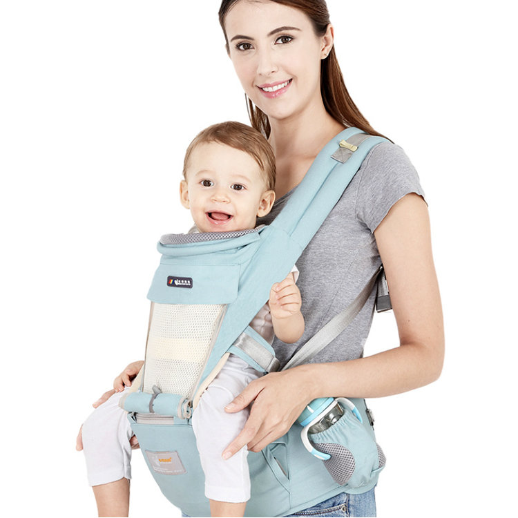 Osgoodway2 3 in 1Four Seasons Breathable Low MOQ Hip Seat Pure Cotton Baby Wrap Carrier