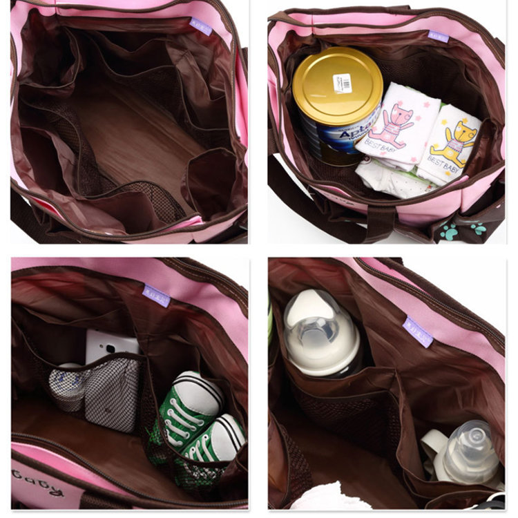 product-Osgoodway-Osgoodway Mother Care Baby Diaper Bag Waterproof Nappy Mummy Shoulder Diaper Tote