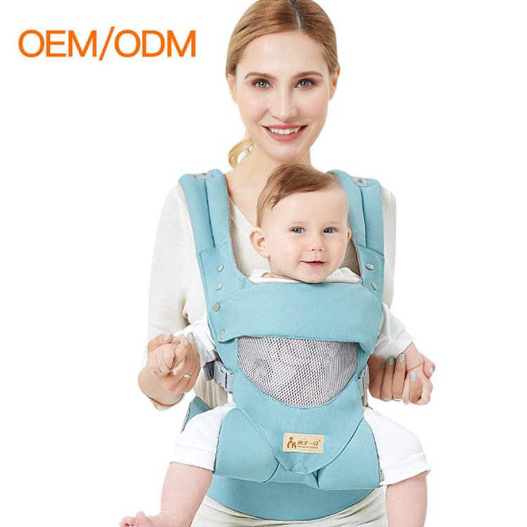 product-Osgoodway-Osgoodway2 Cotton Ergonomic Baby Carrier Backpack Adjustable Breathable Front Faci