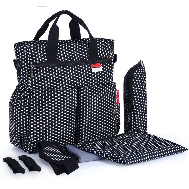 product-Osgoodway2 Tote Mummy Baby Diaper Tote Bag Backpack With Changing Pad and Stroller Straps-Os-1