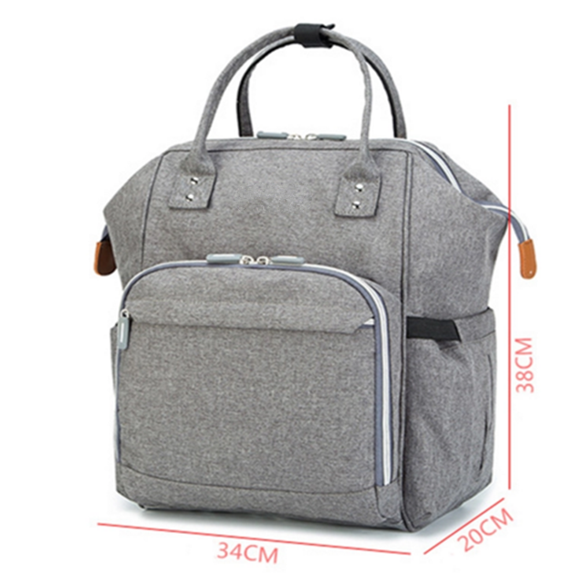 product-Osgoodway-Osgoodway Hot Sale Fashion Large Capacity Waterproof Travel Diaper Bag Backpack Ba