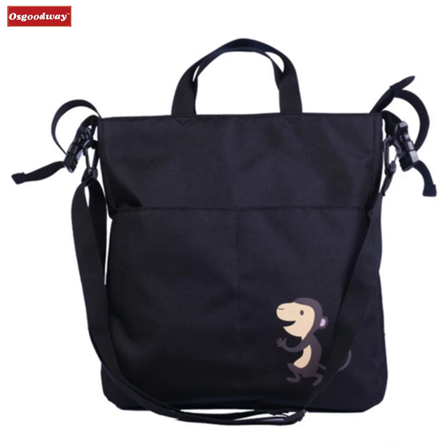 Osgoodway New Products Multifunction Portable Large Capacity Travel Baby Diaper Tote Bag for Baby Mummy