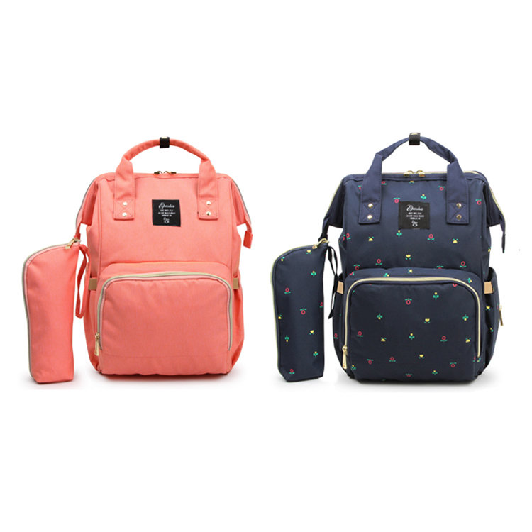Osgoodway2 Multi Color Diaper Bag Baby Care Backpack for Mom Mummy Bag Waterproof Baby Pregnant Bag