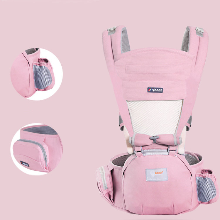 product-Osgoodway2 3 in 1Four Seasons Breathable Low MOQ Hip Seat Pure Cotton Baby Wrap Carrier-Osgo-1