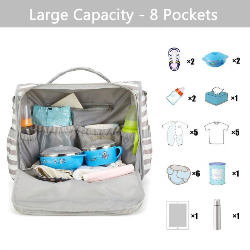 product-Osgoodway-Osgoodway 2020 Stylish Multifunction Mummy Diaper Bag Backpack Travel Baby Diaper