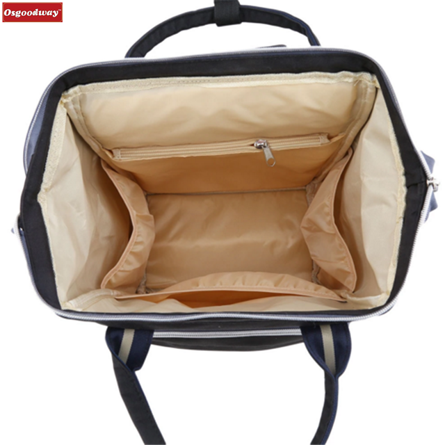 product-Osgoodway Hot Sale Fashion Large Capacity Waterproof Travel Diaper Bag Backpack Baby for Bab-1