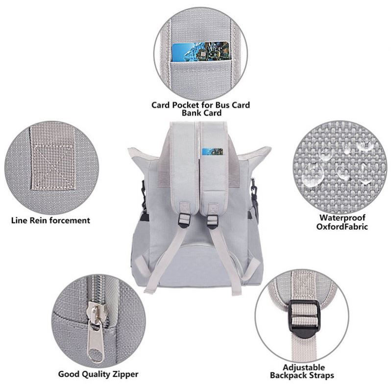product-Osgoodway Low MOQ 2020 Stylish Large Capacity Diaper Bag Backpack for Mum-Osgoodway-img-1