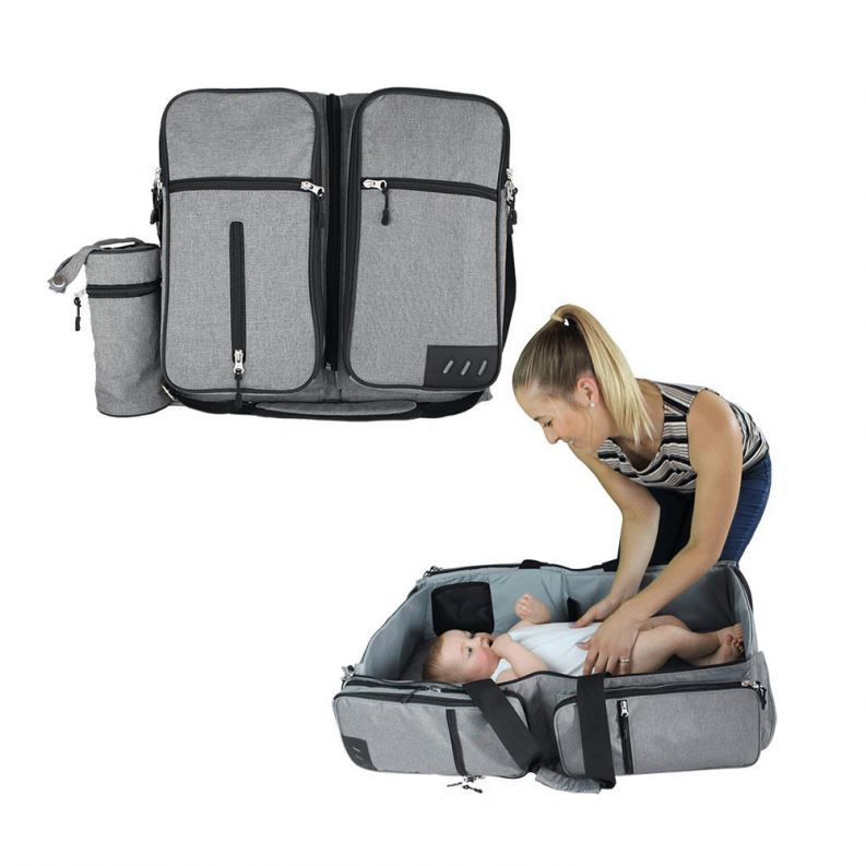 Osgoodway OEM 3 in 1 Travel Bassinet Diaper Bag Outdoor Portable Baby Changing Bed Bag