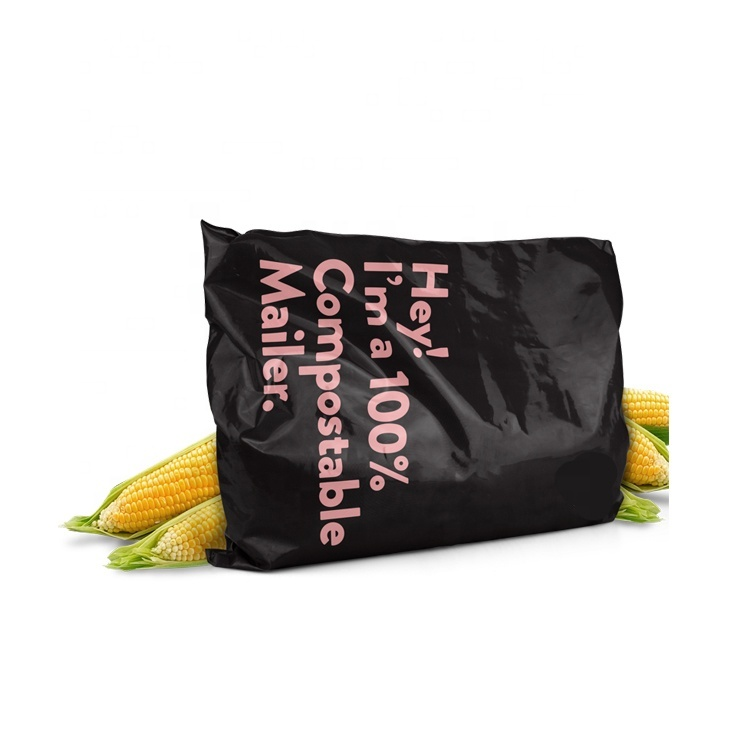 Eco-friendly plant based corn starch Compostable Biodegradable Shipping Packaging Mailing Bags courier bags Mailer Bag