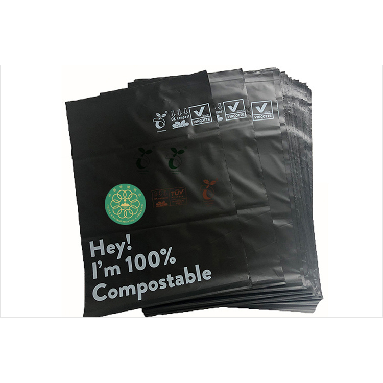 Xinchuang 100% Made From Corn StarchCompostable Green Poly Mailing Bags