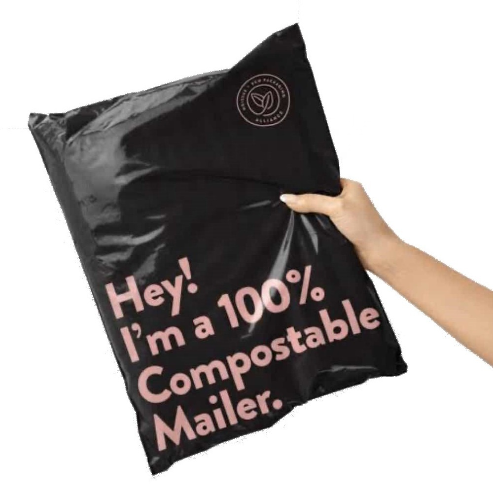 Customized Item Envelope Packing Packaging Color Printing Composatble Mailing Bags Courier Mailer