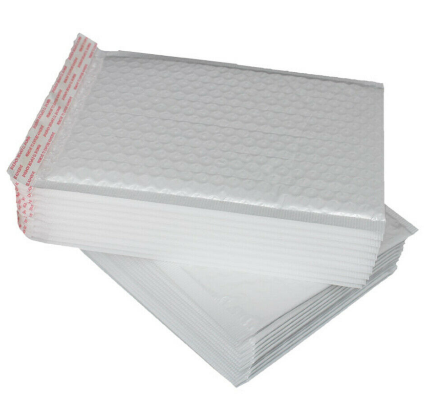 Eco-friendly Bubble Mailers Biodegradable Padded Envelope Self-Sealing Matte Shipping Bags Compostable