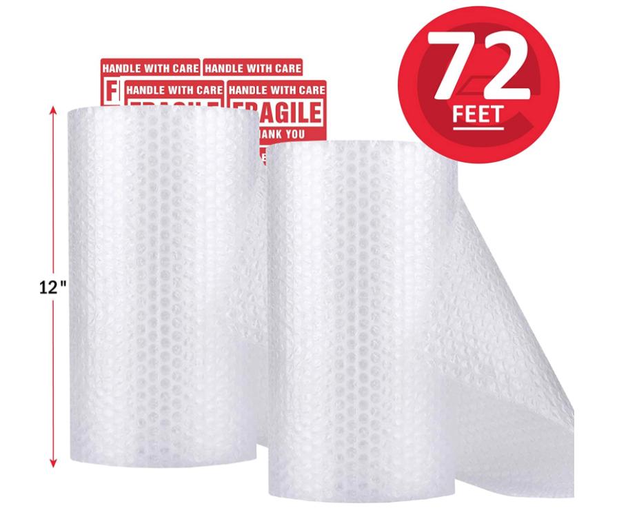 Eco Type Plant based Biodegradable Compostable BubbleCushioning Wrap Bubble Wrap