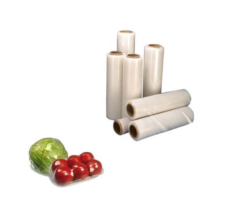 Food Grade Storage Clear Films for Fruits Vegetables OEM PLA Cling Film for Cooking