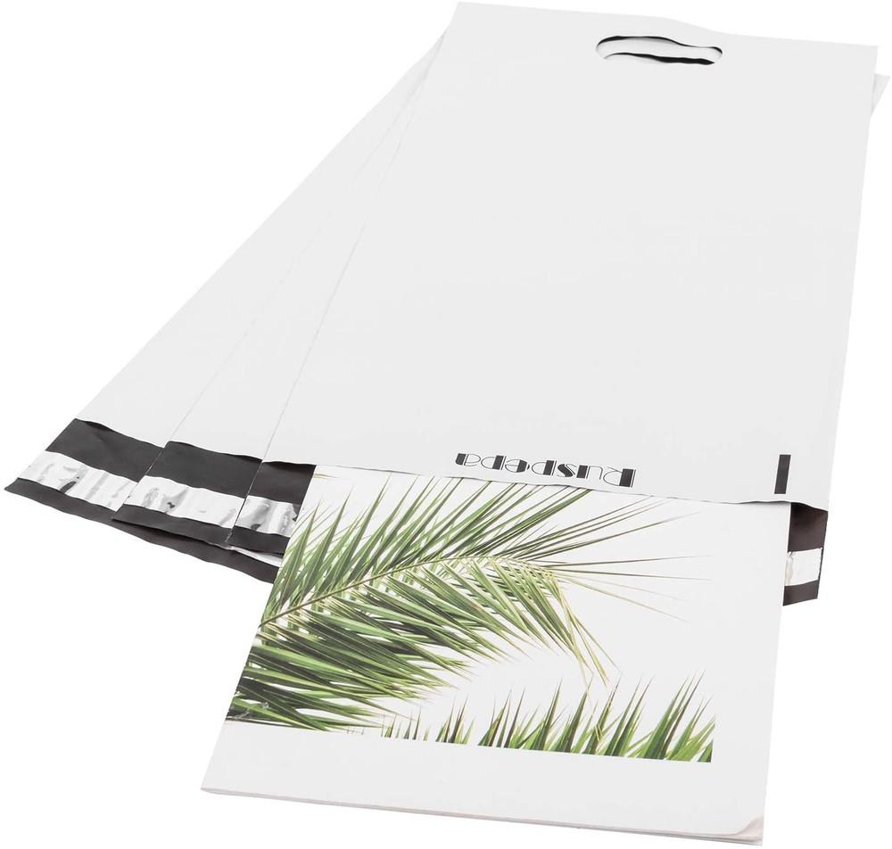 Custom Printed 100% biodegradable mailing bag compostable mailer bag plant based biodegradable mailer