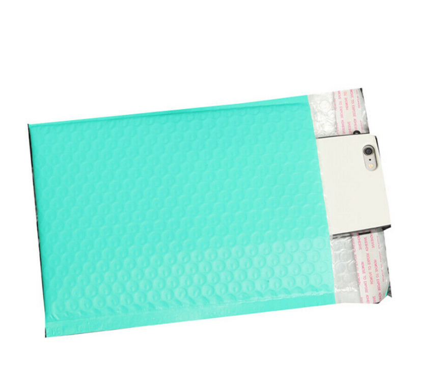 100% Eco-friendly Bubble Mailers Biodegradable Padded Envelope Compostable Self-Sealing Shipping Bags