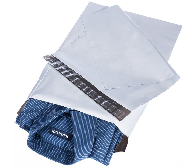 Custom 100%Biodegradable Compostable Eco-friendlyShipping Packaging Mailing Bags White Poly Mailer