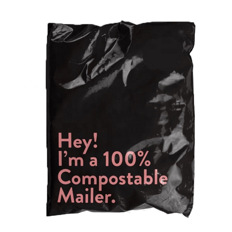 Eco-friendly Mailing Bags Compostable Mailer Mailing Bags Self-Sealing Shipping Bags Compostable Mailer