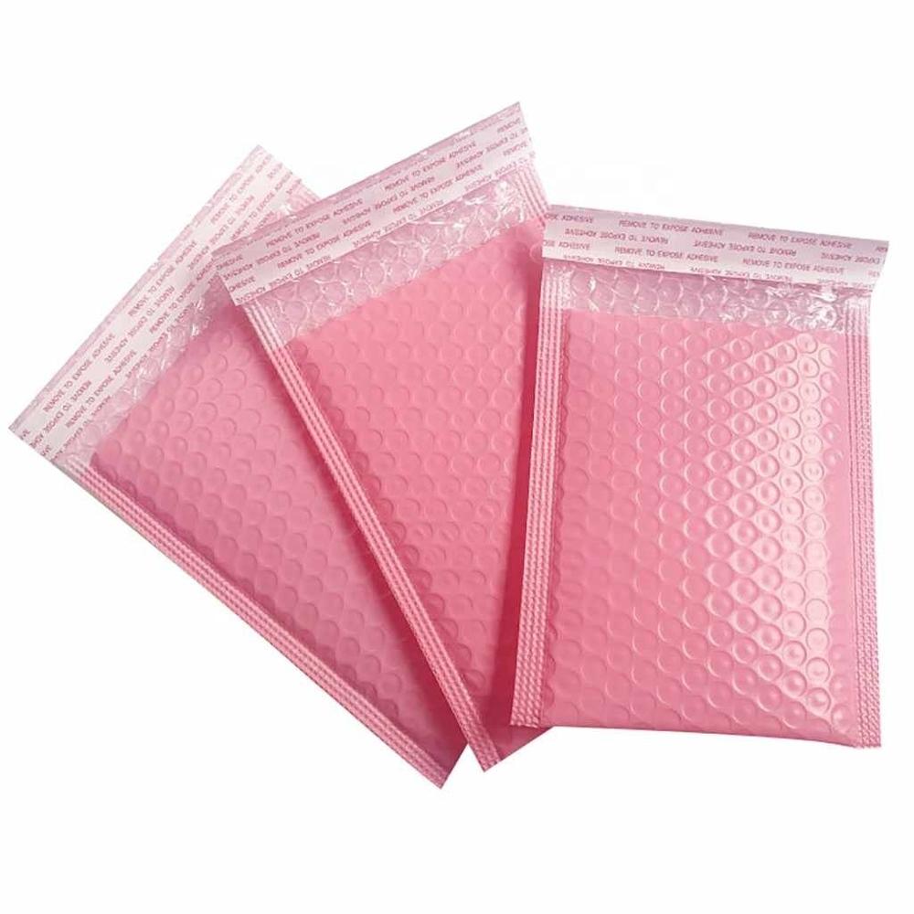 Eco-friendly Custom printed Corn Starch Bubble envelope bag 100% biodegradable bubble mailing bag