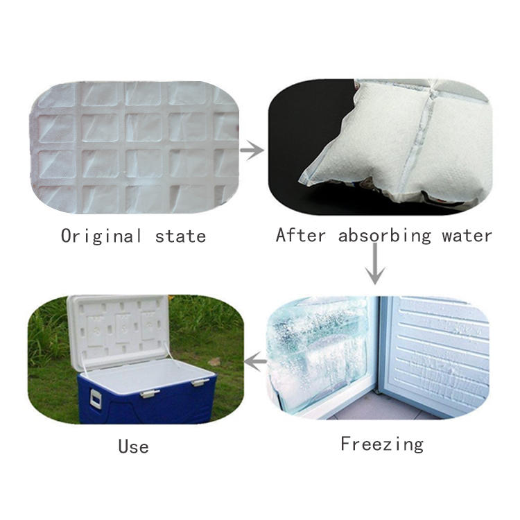 Economical Custom Gel Ice Pack Dry Ice Pack For Cooler