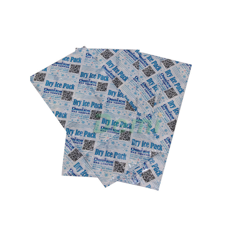 Superior high absorbency non woven soak pads as ice packs replacement for frozen food in transport