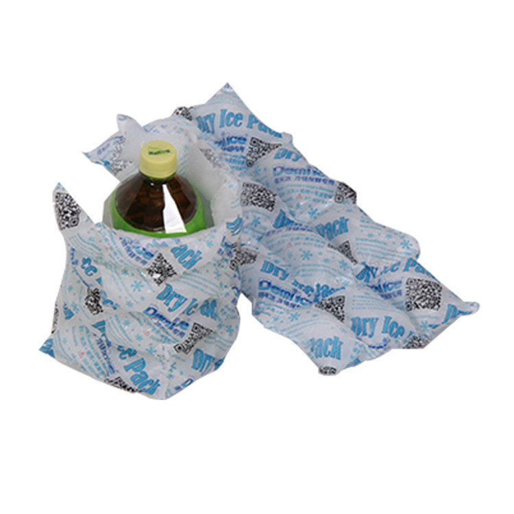 Eco-Friendly ISO9001,SGS Disposable Cooler Bag Ice Pack Sheet Dry Ice Pack for Food Delivery