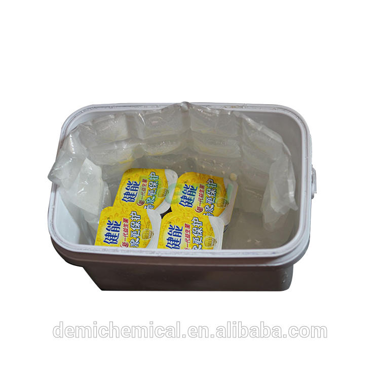 US FDA approved non-woven fill water freeze gel ice packs used in transport,catering industry and healthcare