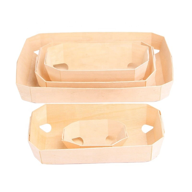 hot sale reusable poplar bark wood cake mold european cupcake bread baking mould