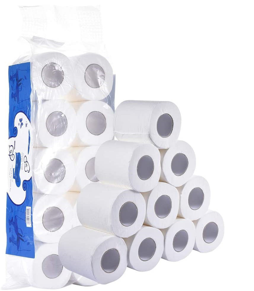 Wholesale Multilayer Soft Recycled Colored Biodegradable Tissu Toilet Paper for Hotel