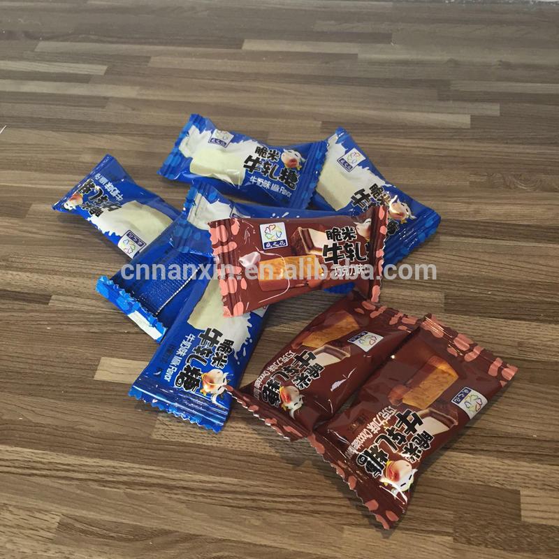 Nougats contain bag foil candy bag sachet