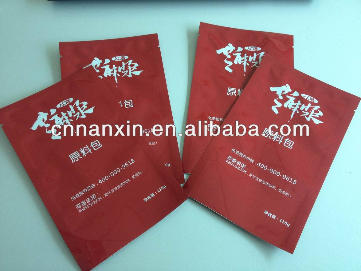 printed plastic tea small sachet bag package