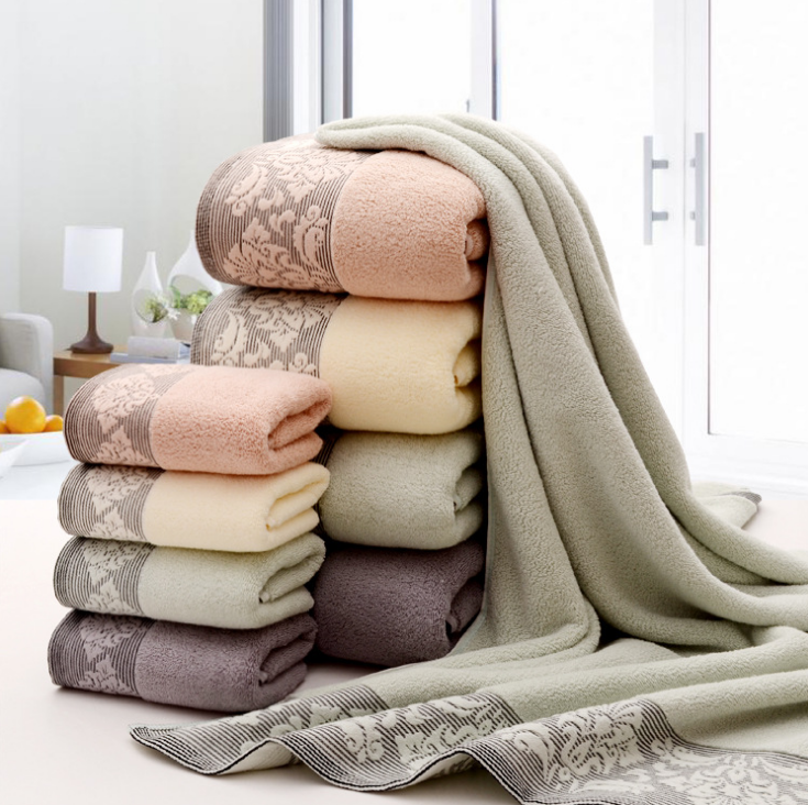 Factory price bath towels stock lot