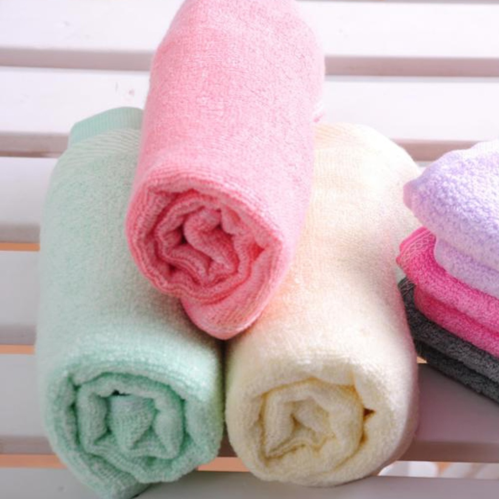 Shower towel wrapped super absorbent bamboo hair towel