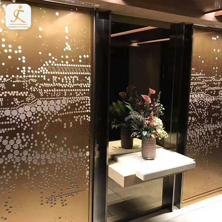 stainless steel cladding interior decor 3d textured background wall panel stainless steel covering interior decor wall panel