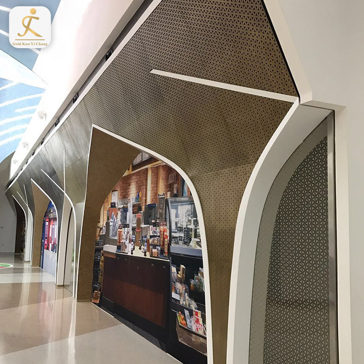 Dubai shopping mall custom metal wall art panels wainscoting wall 3d panel SUS 304 316 316L 3d wall panels decorative interior