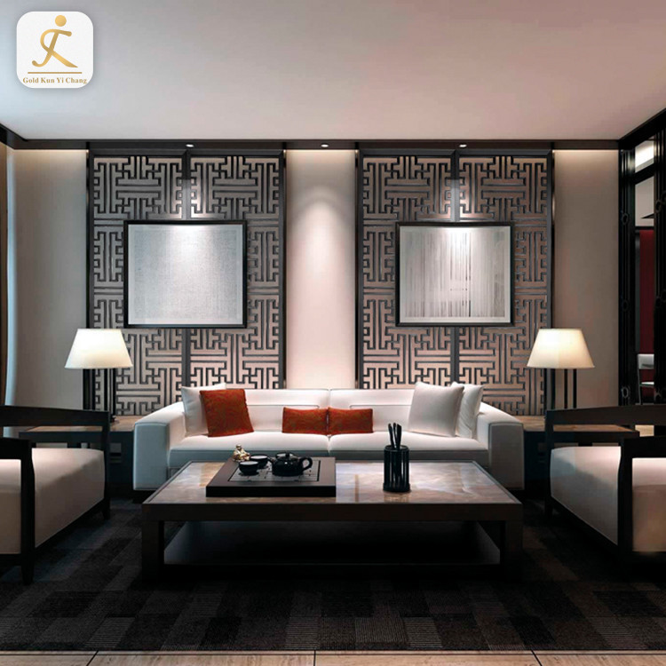 modern living room stainless steel 3d decorative interior wall cladding SUS304 316 wall panel decorative board