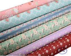 Customized baby gift wrapping paper roll print manufacture