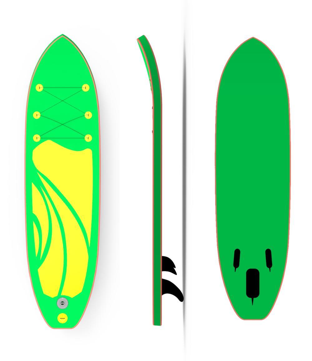 Custom PrintingInflatable Surfboard Paddle Board SUP