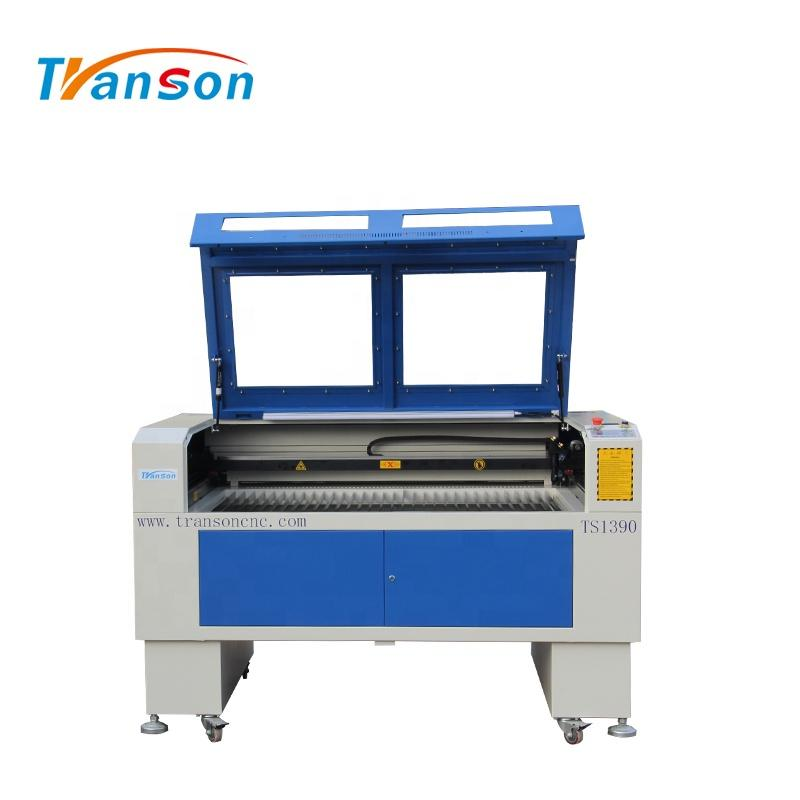 80W Co2 Laser Cutting Engraving Machine TS1390 with EFR F2 Tube used forwood paper acrylic leather plastic stone glass