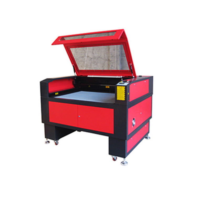 factory supply CO2 cnc rotary laser Reci Laser tube 100w 80w 60w co2 laser engraver cutter machine with DSP Control System