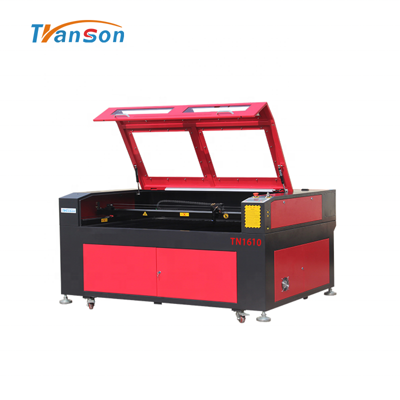 CO2 Laser Cutting Engraving Machine TN1610 Leather Cutting Machine
