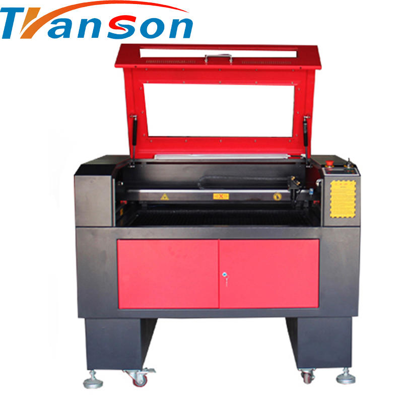 Support Wood Acrylic and Bamboo Co2 Laser Engraving and Cutting Machine TS6090