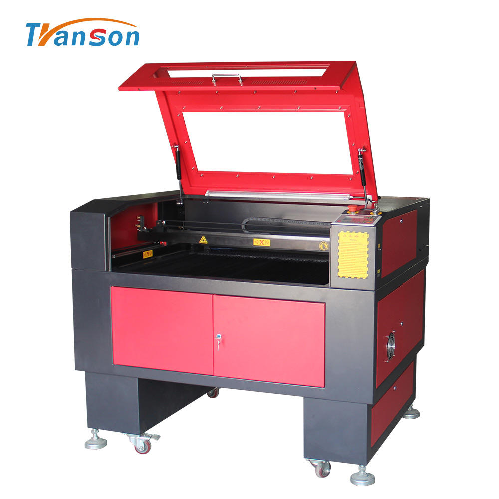 TS1290 equipment leather processing150 watts laser cutting machine