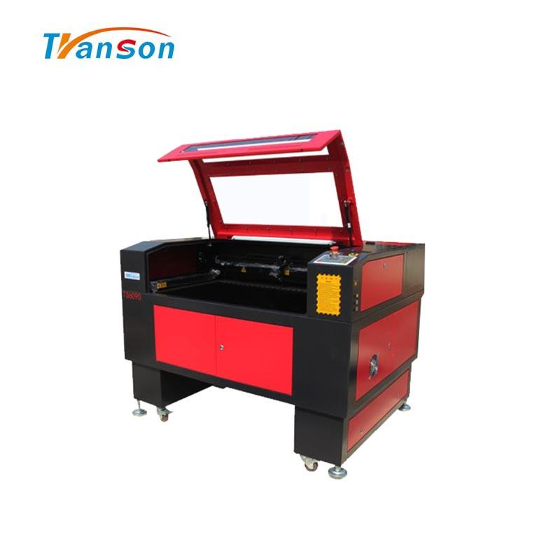 150W CO2 Laser Cutting Engraving Machine TS6090 with Reci W8 Tubefor non-metal wood paper acrylic leather plastic stone glass