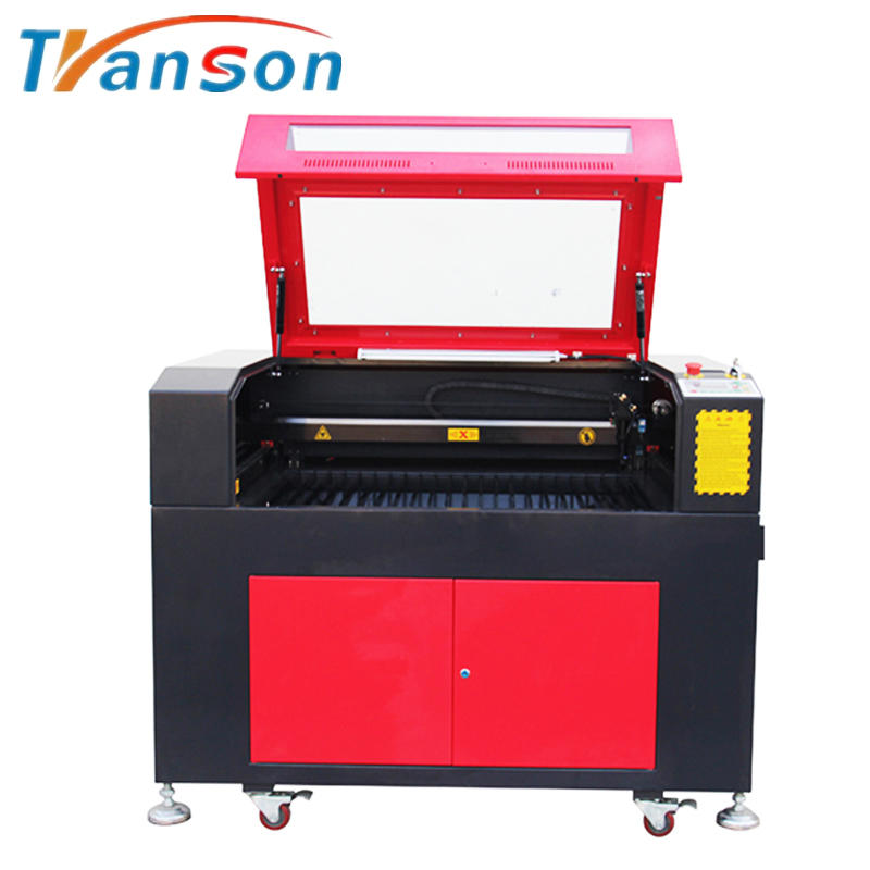 6090 Rubber Granite Stone CO2 Laser Engraving And Cutting Machine
