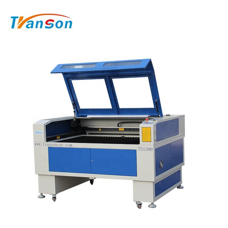 130W Co2 Laser Cutting Engraving Machine TS1390 with EFR F6 Tube used forwood paper acrylic leather plastic stone glass